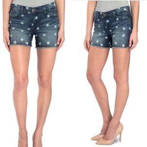 Rock & Republic Hula Star Denim Jean Shorts Sz 12